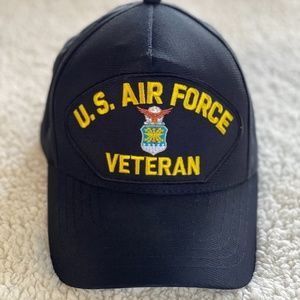USAF Military Retired Hat Ball Cap Adjustable